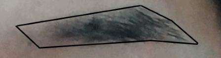 眉毛理想の形